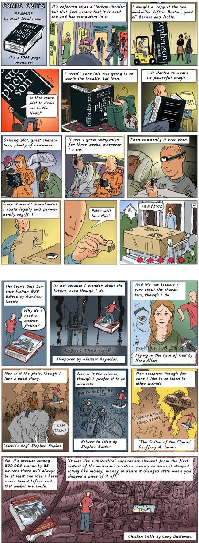 Comic Crits, John Bonner