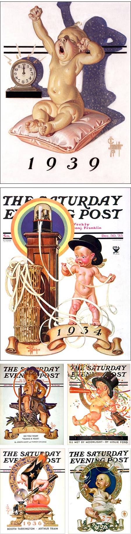 Happy Leyendecker Baby New Year 2012!