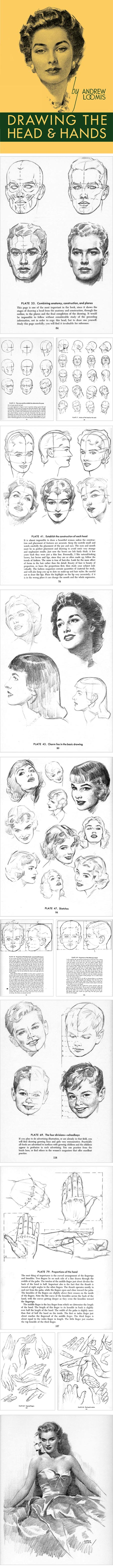 Drawing the Head and Hands, Andrew Loomis