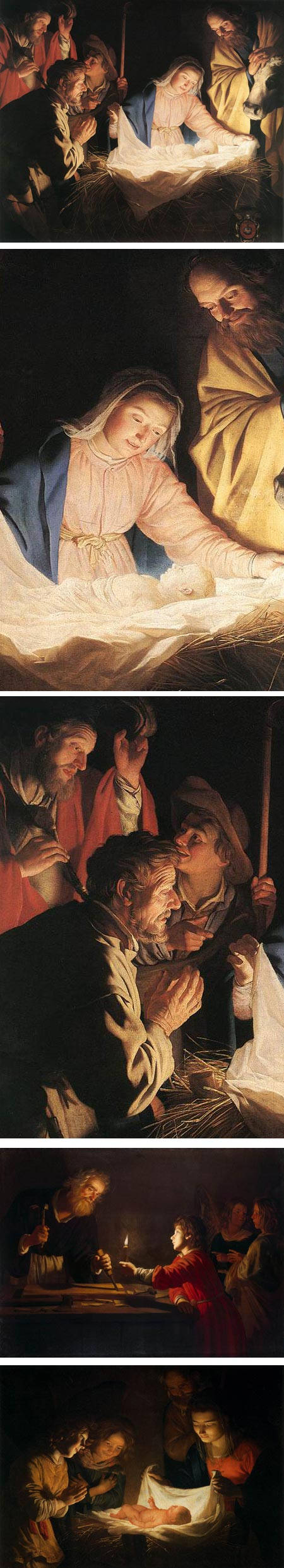 Adoration of the Shepherds, Gerrit van Honthorst