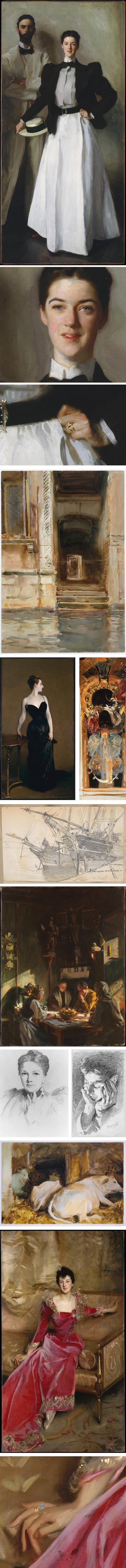 John Singer Sargent on Met Museum website