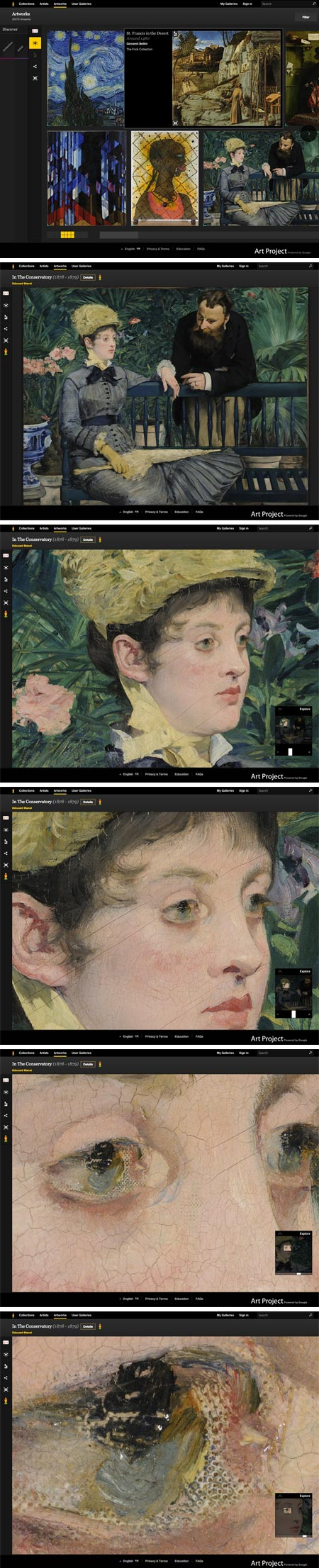 Google Art Project: Edouard Mane