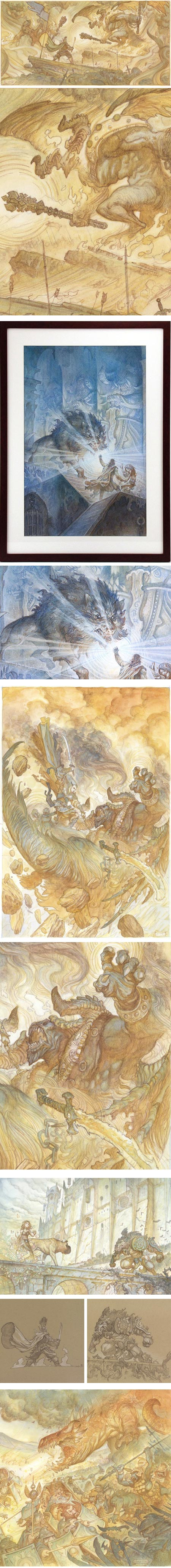 Justin Gerard's Silmarillion ast Gallery Nucleus