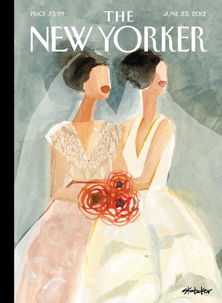 Blown Covers to New Yorker cover: Gayle Kabaker's June Brides