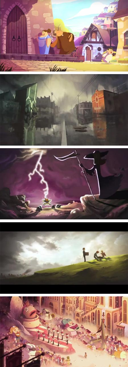 Gobelins students animations for Annecy 2012