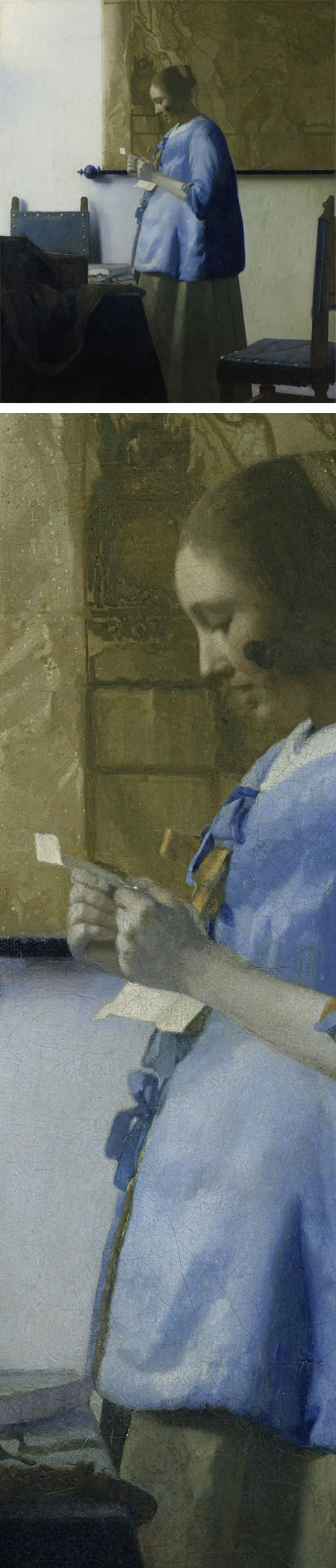 Vermeer's Woman in Blue Reading a Letter
