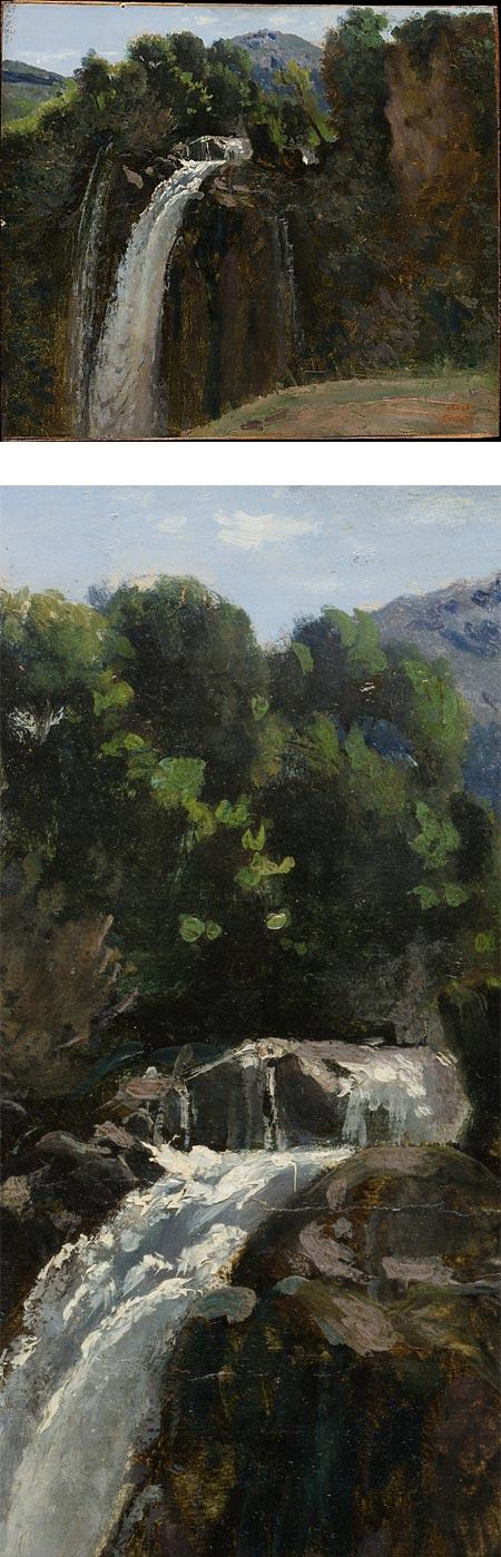 Waterfall at Terni, Camille Corot