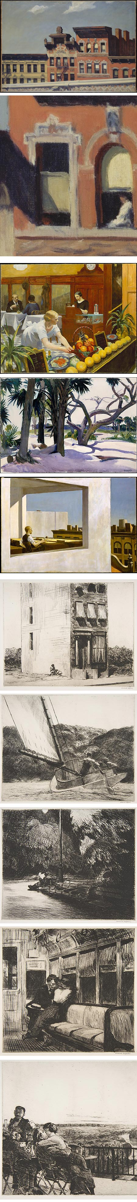 Edward Hopper on Met Museum website