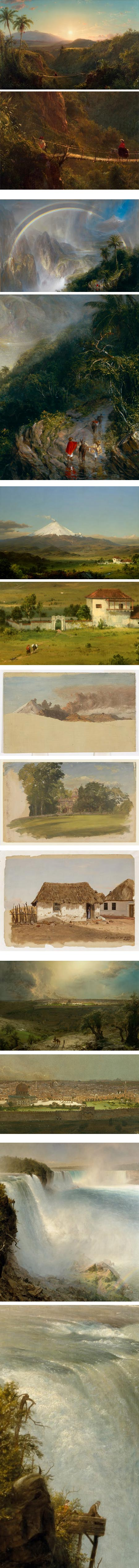 Frederic Edwin Church on Google Art Project