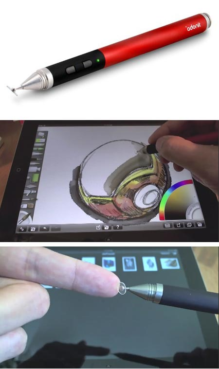 Jot Touch pressure sensitive stylus for iPad