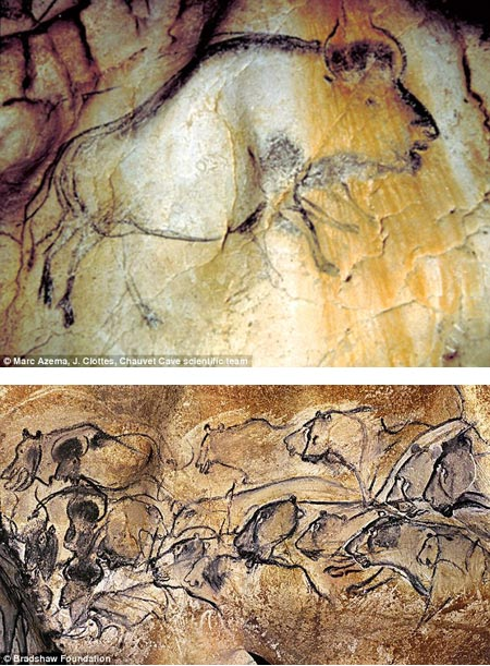 Prehistoric animation, Marc Azema, Chauvet Cave Scientific team