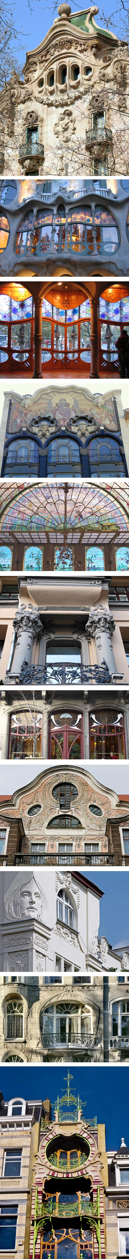 Art Nouveau Windows