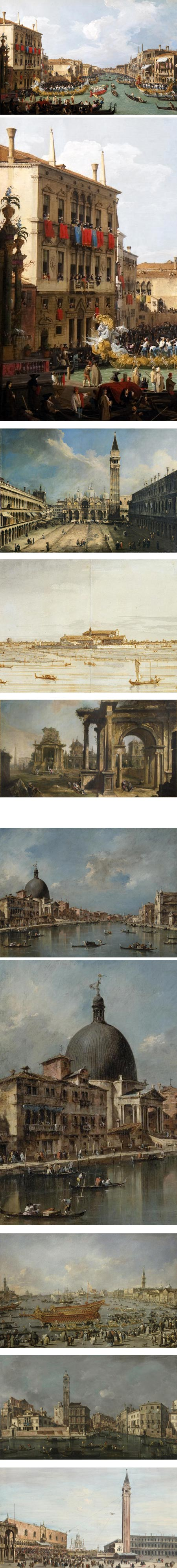 Canaletto ˜ Guardi: The two masters of Venice