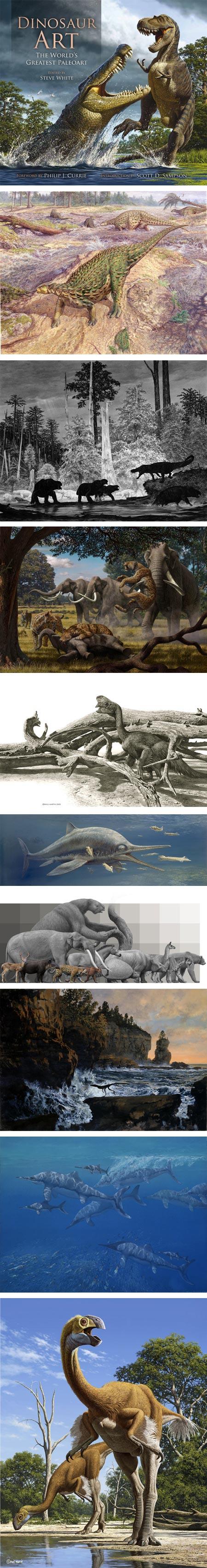 Dinosaur Art: The World's Greatest Paleoart:  Raul Martin, John Sibbick, Douglas Henderson, Mauricio Antón, Raul Martin, John Sibbick, Mauricio Antón, Douglas Henderson, John Sibbick, Raul Martin