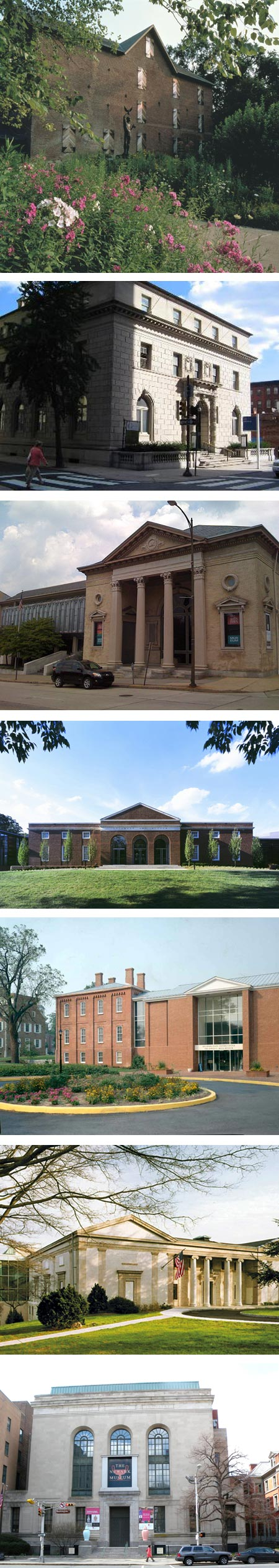 Museum Day, 2012: Brandywine River Museum, Philadelphia Art Alliance, Allentown Art Museum, Delaware Art Museum, Biggs Museum of American Art, Montclair Museum, Newark Museum