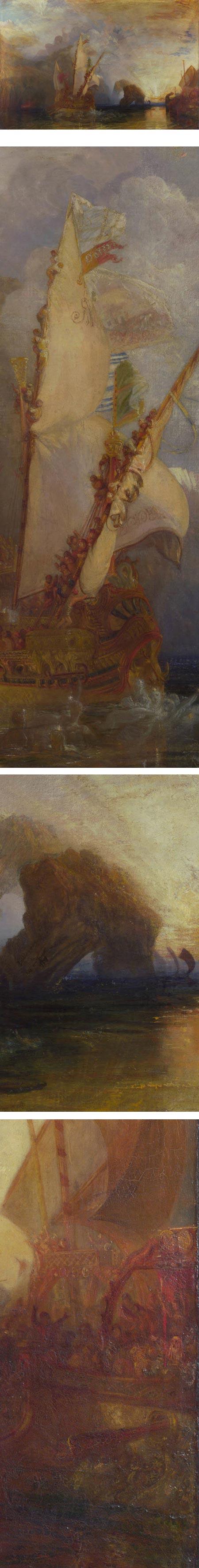 Ulysses deriding Polyphemus, JMW Turner