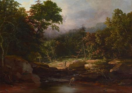 Durand reattributed to Inness