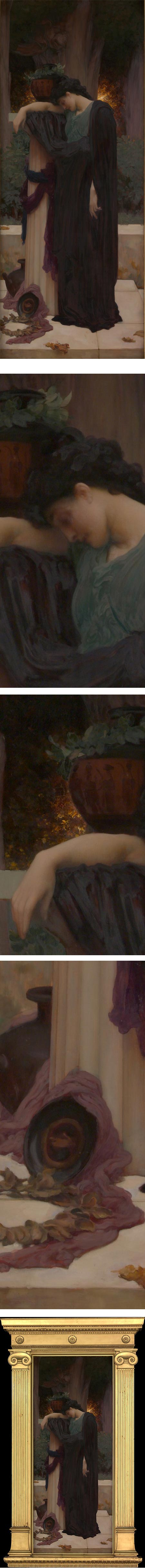 Lachrymae by Frederic, Lord Leighton