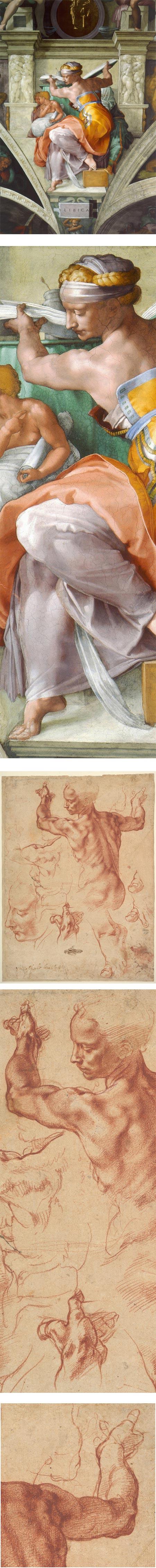 Michelangelo's Libyan Sibyl