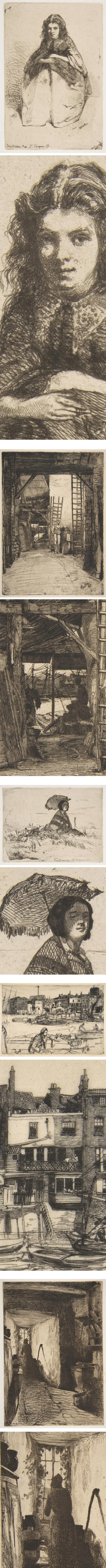 Whistler's etchings