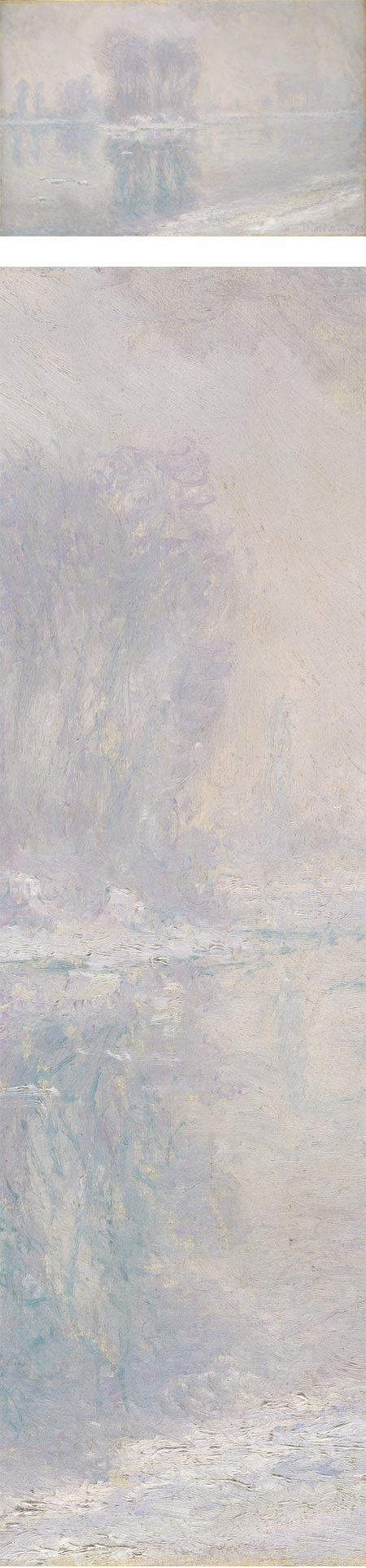 Ice Floes, Claude Monet