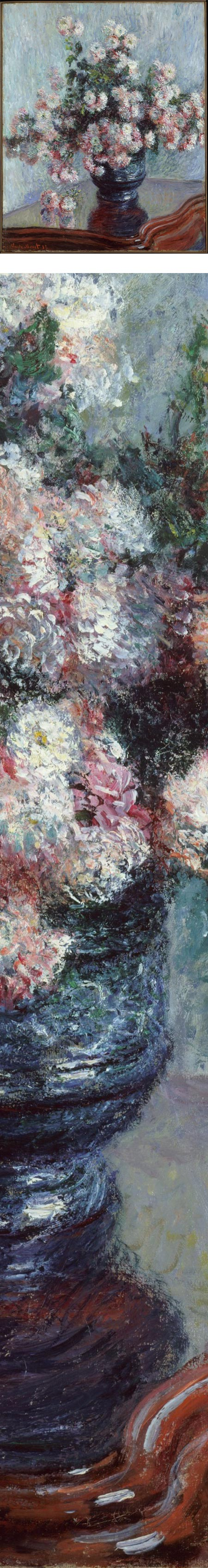 Chrysanthemums, Claude Monet