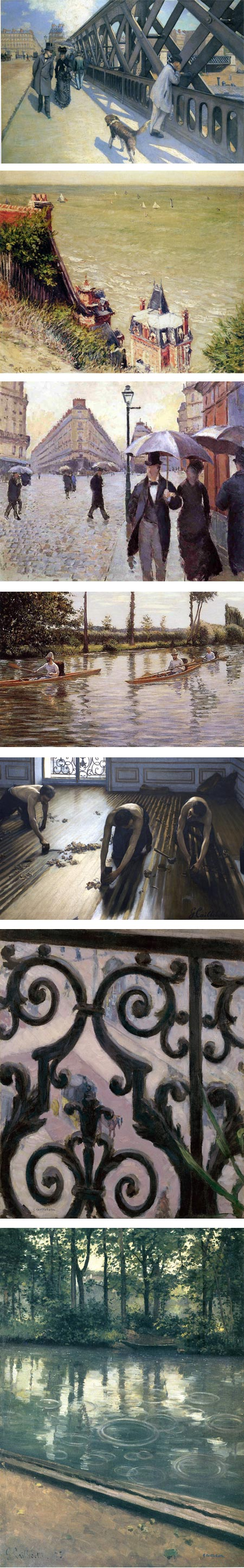 Gustave Caillebotte at Schirn Kunsthalle Frankfurt