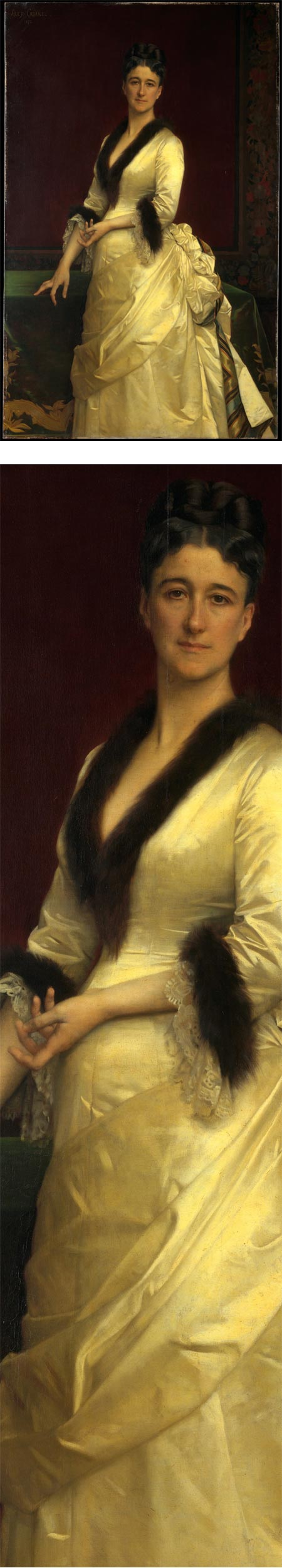 Catharine Lorillard Wolfe, by Alexandre Cabanel