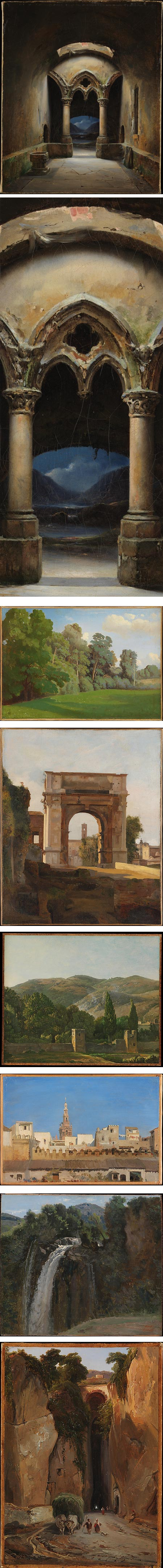 The Path of Nature: French Paintings from the Whitney Collection: Charles-Marie Bouton, Théodore Caruelle d'Aligny, [unknown], Simon Denis, Adrien Dauzats, Camille Corot, Charles Rémond
