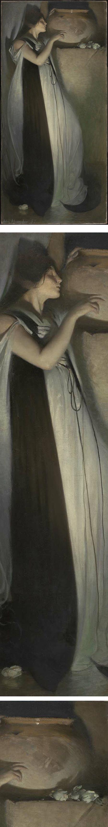 Isabella and the Pot of Basil, John White Alexander