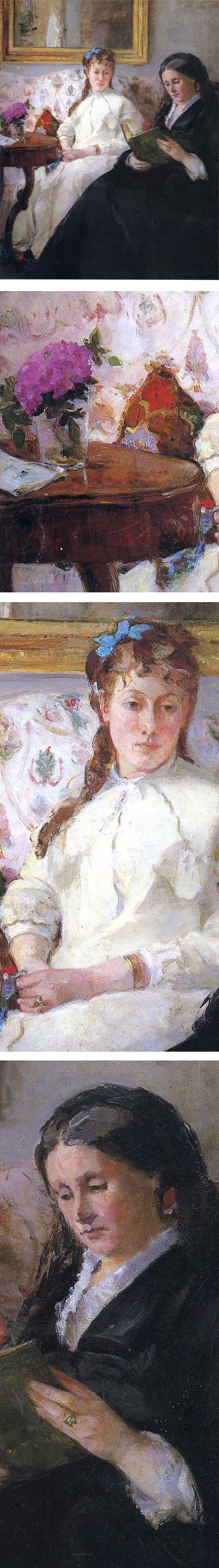 Portrait of the Artist's Mother and Sister, Berthe Morisot