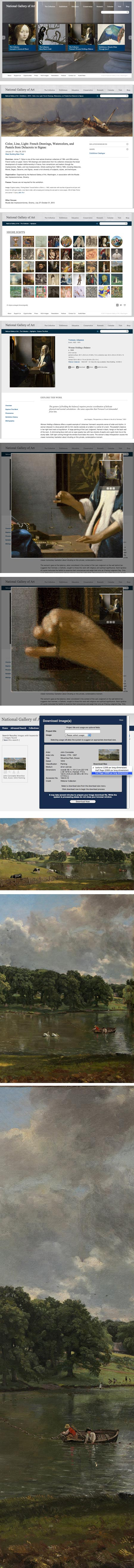 New website for National Gallery of Art