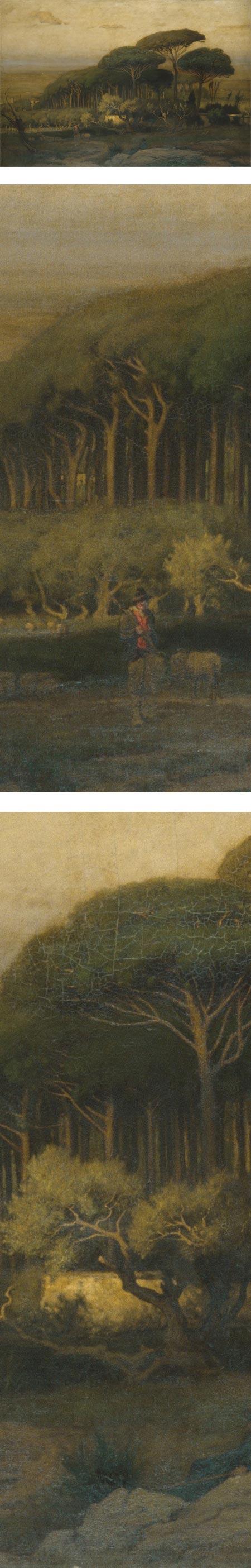 Pine Grove of the Barberini Villa, George Inness