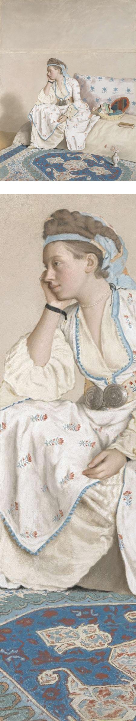 Portrait of Marie Fargues, Jean-Etienne Liotard