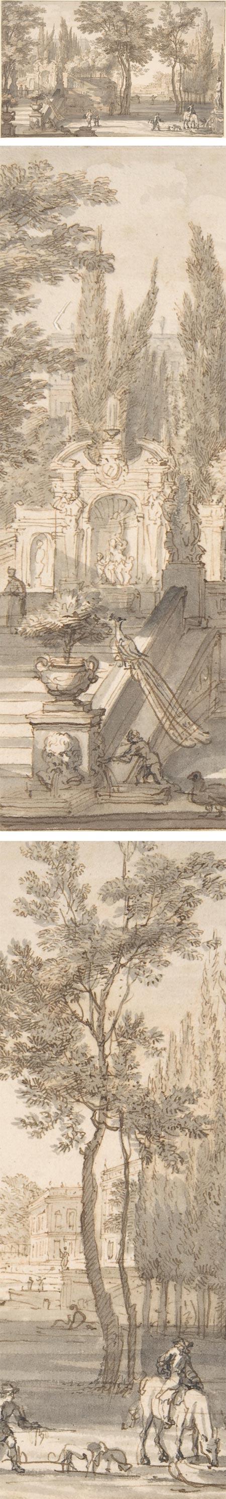 Classical Landscape, Isaac de Moucheron