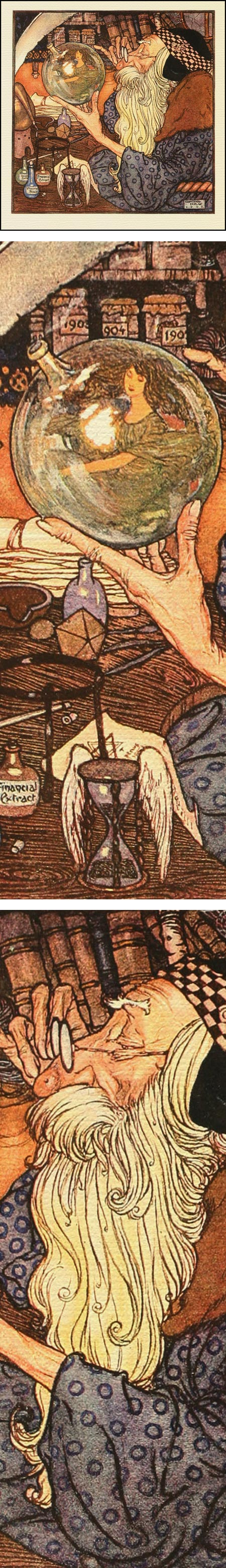 Father Time, Edmund Dulac