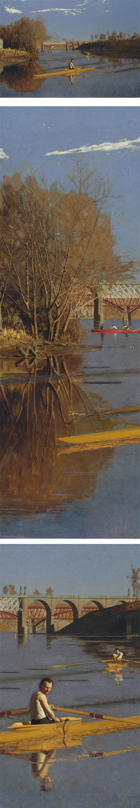 The Champion Single Sculls (Max Schmitt in a Single Scull), Thomas Eakins