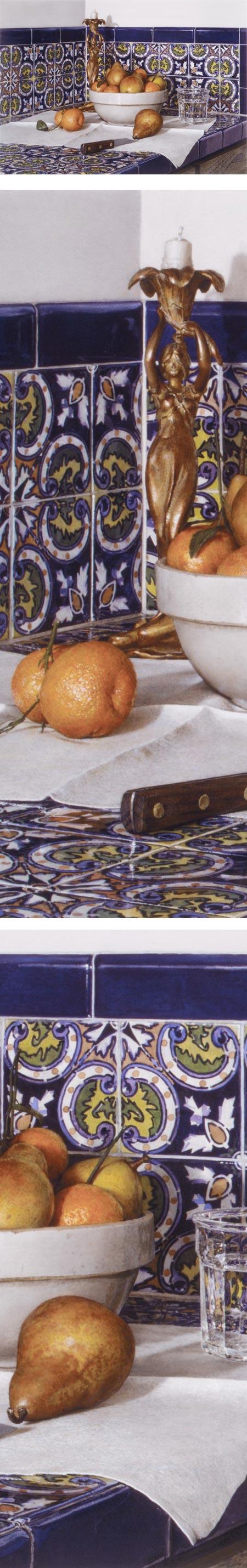 Still Life with Brass Candlestick, John Stuart Ingle