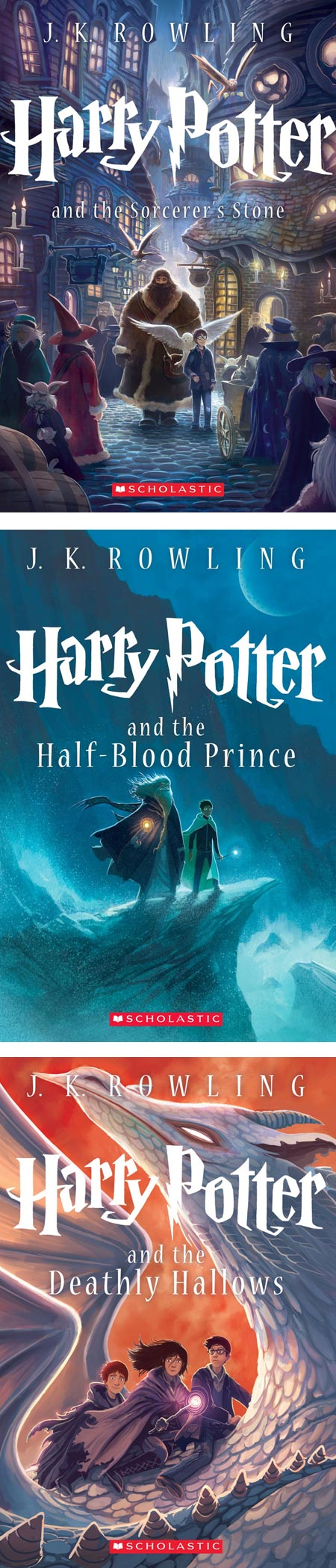 Kazu Kibuishi's new Harry Potter cover illustrations