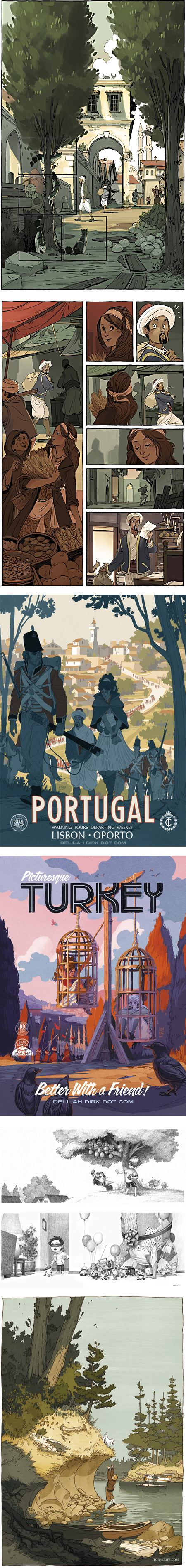 Tony Cliff: Delilah Dirk and the Turkish Lieutenant