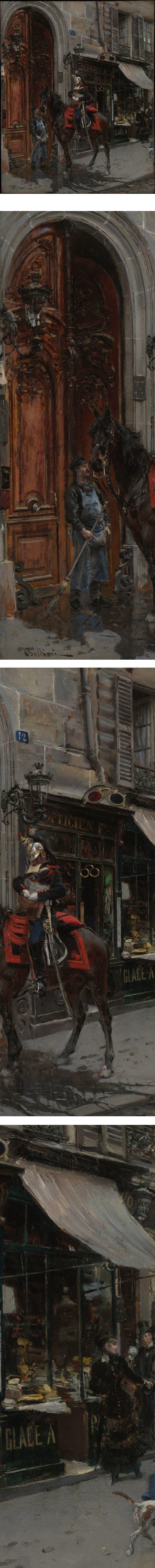 The Dispatch-Bearer, Giovanni Boldini