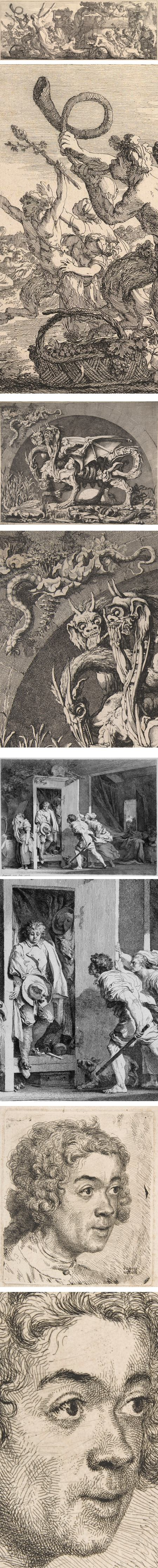 Artists and Amateurs: Etching in Eighteenth-Century France: Joseph Marie Vien, Louis Jean Desprez, Jean Honore Fragonard, Jean Etienne Liotard