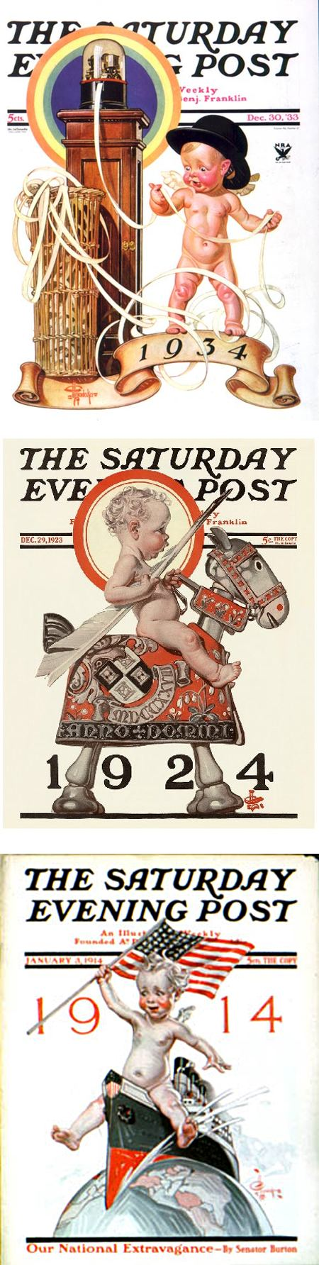 Happy Leyendecker Baby New Year 2014!, J.C. Leyendecker