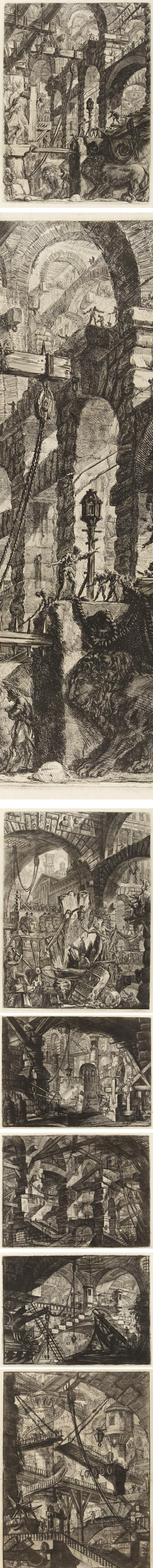 Piranesi's Imaginary Prisons at Princeton University Art Museum