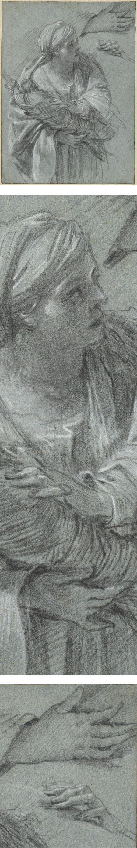 Creusa Carrying the Gods of Troy, Simon Vouet