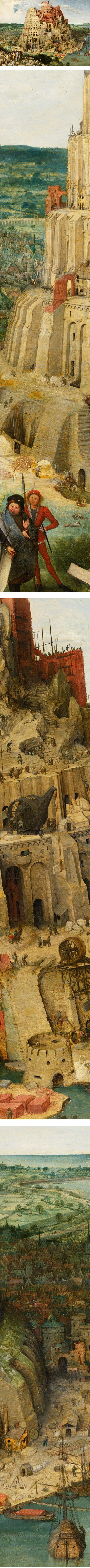 The Tower of Babel, Pieter Bruegel the Elder