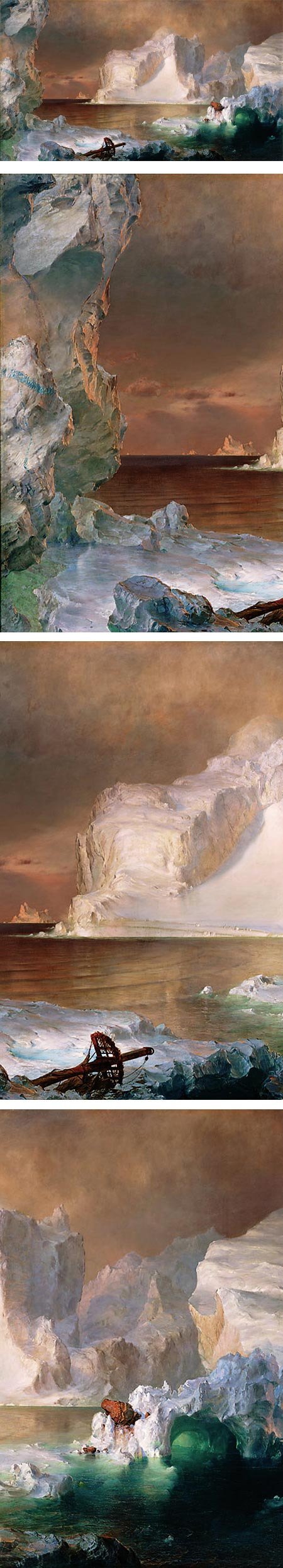 The Icebergs, Frederic Edwin Church