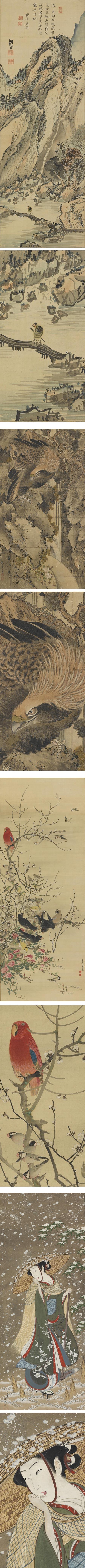 Edo Period Painting: Japanese Masterworks from the Feinberg Collection, Metropolitan Museum - of Art   Yosa Buson, Ganku, Nagasawa Rosetsu, Toensai Kanshi