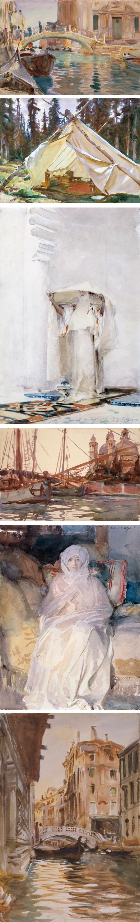 The Inscrutable Eye: Watercolors by John Singer Sargent in Isabella Stewart Gardner's Collection