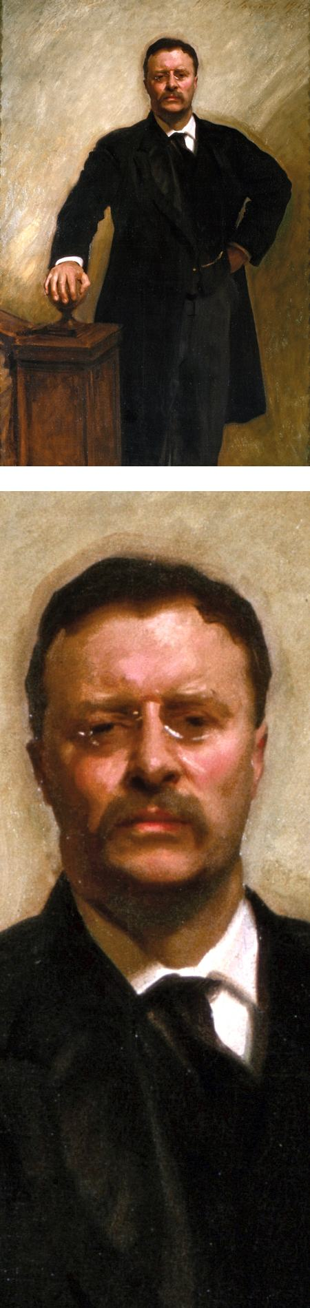 Theodore Roosevelt by John Singer Sargent